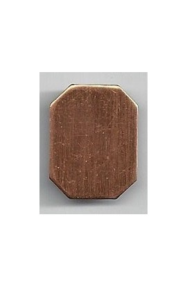 Octagon 5/8 X 7/8 inch - ( Pack of 10 ) Copper Ref: 1037