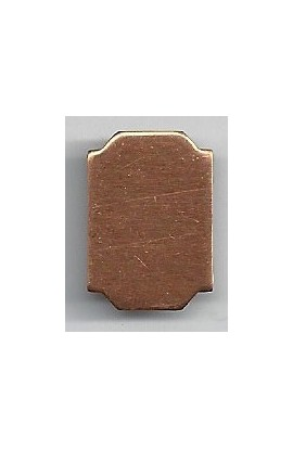 Octagon 9/16 X 7/8 inch - ( Pack of 10 ) Copper Ref: 1038