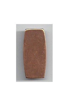 Rectangle 1/2 X 1 inch - ( Pack of 10 ) Copper Ref: 1041