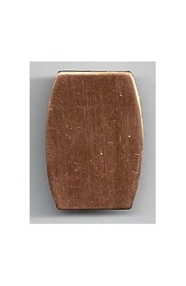 Rectangle 3/4 X 1 inch - ( Pack of 10 ) Copper Ref: 1042