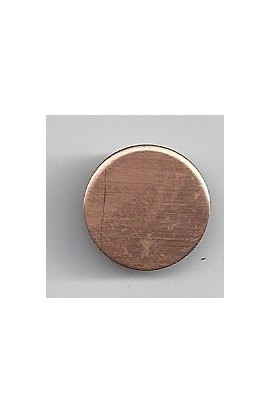 Disc Ø 5/8 inch - ( Pack of 10 ) Copper Ref: 300