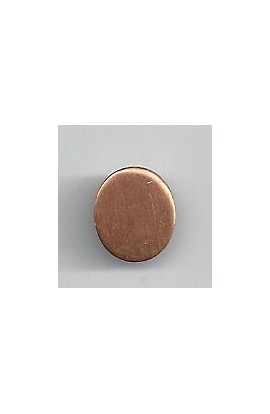 Oval 7/16 X 1/2 inch - ( Pack of 10 ) Copper Ref: 1050
