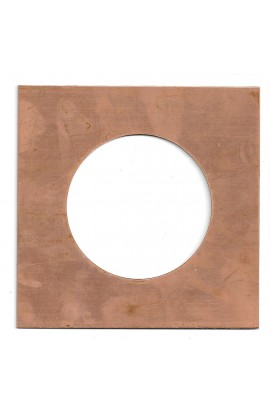 Picture frame 5 X 5 inch - ( Pack of 1 ) Copper Ref: 1058