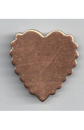 Hart 1 3/16 X 1 1/4 inch - ( Pack of 10 ) Copper Ref: 1060