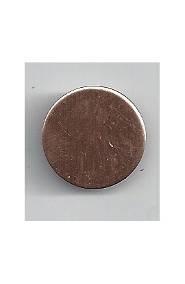 Disc Ø 3/4 inch - ( Pack of 10 ) Copper Ref: 301