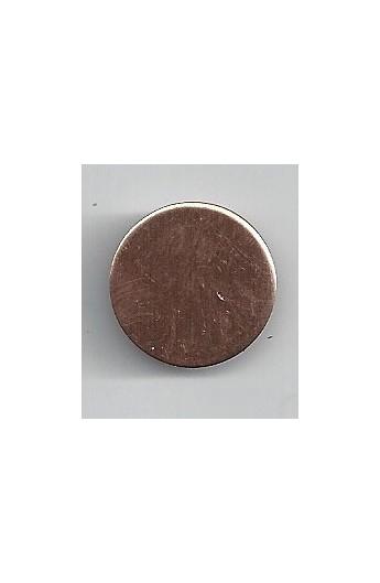 Disc Ø 3/4 inch - ( Pack of 10 ) Copper Ref: 301