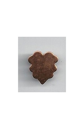 Leaf 1/2 X 9/16 inch - ( Pack of 10 ) Copper Ref: 1065
