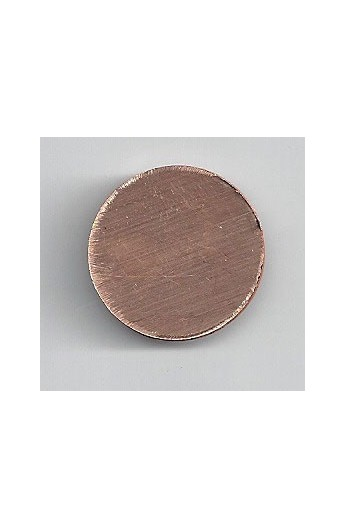 Disc Ø 7/8 inch - ( Pack of 10 ) Copper Ref: 302