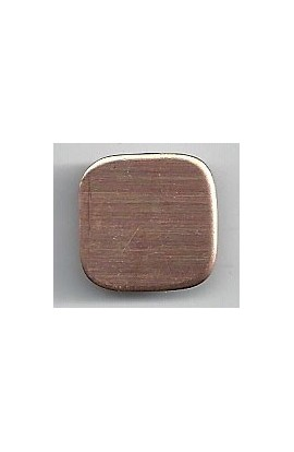 Square 5/8 X 5/8 inch - ( Pack of 10 ) Copper Ref: 1077
