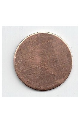 Disc Ø 1 inch - ( Pack of 10 ) Copper Ref: 303