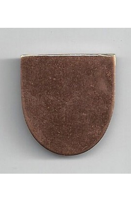 Haft-oval 1 X 1 1/16 inch - ( Pack of 10 ) Copper Ref: 1087