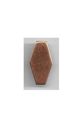 Hexagon 7/16 X 3/4 inch - ( Pack of 10 ) Copper Ref: 1091