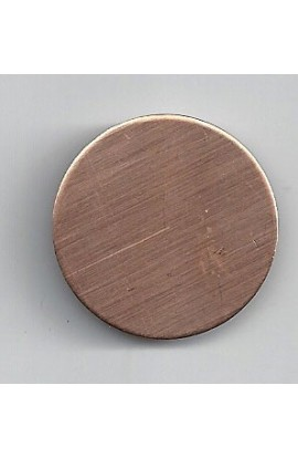 Disc Ø 1 1/8 inch - ( Pack of 10 ) Copper Ref: 304