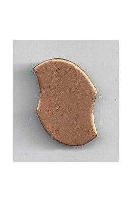 Oval 13/16 X 15/16 inch - ( Pack of 10 ) Copper Ref: 1096