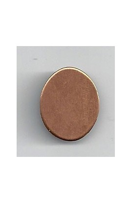 Oval 5/8 X 3/4 inch - ( Pack of 10 ) Copper Ref: 1098
