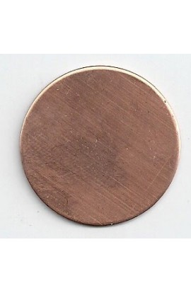 Disc Ø 1 1/4 inch - ( Pack of 10 ) Copper Ref: 305