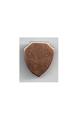 Badge 9/16 X 5/8 inch - ( Pack of 10 ) Copper Ref: 1103