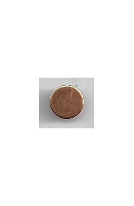 Disc Ø 11/32 inch - ( Pack of 10 ) Copper Ref: 1200