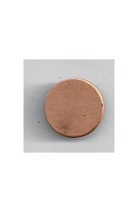Disc Ø 19/32 inch - ( Pack of 10 ) Copper Ref: 1202