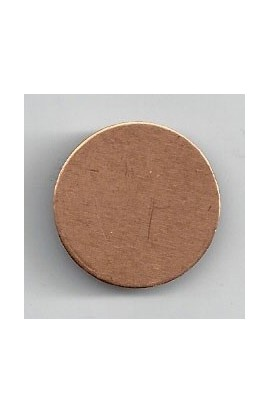Disc Ø 27/32 inch - ( Pack of 10 ) Copper Ref: 1204