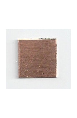 Square 11/16 X 11/16 inch - ( Pack of 10 ) Copper Ref: 1207