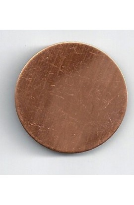 Disc Ø 1 3/8 inch - ( Pack of 10 ) Copper Ref: 306