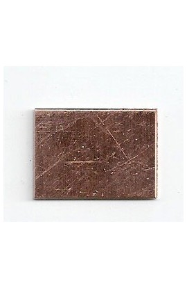 Rectangle 5/8 X 7/8 inch - ( Pack of 10 ) Copper Ref: 1208