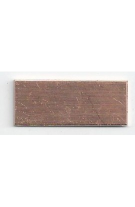 Rectangle 1/2 X 1 1/4 inch - ( Pack of 10 ) Copper Ref: 1210