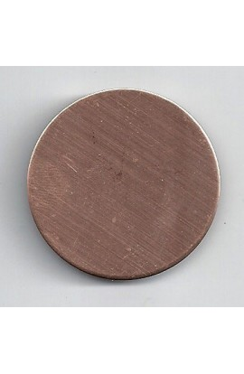 Disc Ø 1 1/2 inch - ( Pack of 10 ) Copper Ref: 307