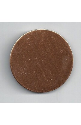 Disc Ø 1 5/8 inch - ( Pack of 5 ) Copper Ref: 308