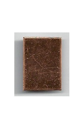 Rectangle 5/8 X 7/8 inch - ( Pack of 10 ) Copper Ref: 1237