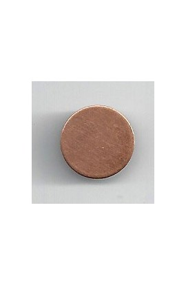 Disc 1/2 X 1/2 inch - ( Pack of 10 ) Copper Ref: 1244