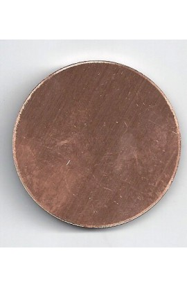 Disc Ø 1 3/4 inch - ( Pack of 5 ) Copper Ref: 309