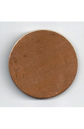 Disc Ø 1 7/8 inch - ( Pack of 5 ) Copper Ref: 310
