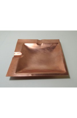 Ashtray 4 1/2 X 4 1/2 inch - ( Pack of 1 ) Copper Ref: P31