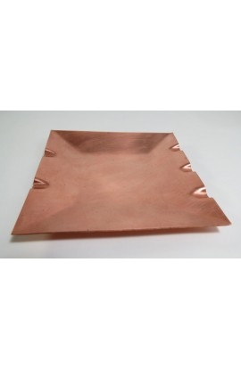 Ashtray 4 3/4 X 4 3/4 inch - ( Pack of 1 ) Copper Ref: P32