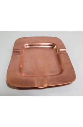 Ashtray 4 7/16 X 3 5/16 inch - ( Pack of 1 ) Copper Ref: P33