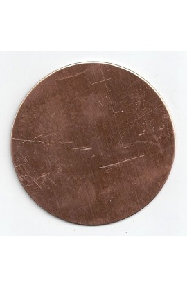 Disc Ø 3 inch - ( Pack of 1 ) Copper Ref: 313